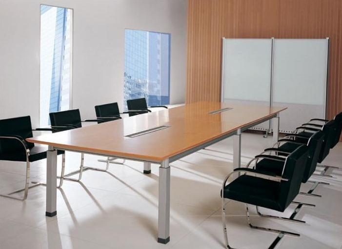 板式现代会议桌(10人位)