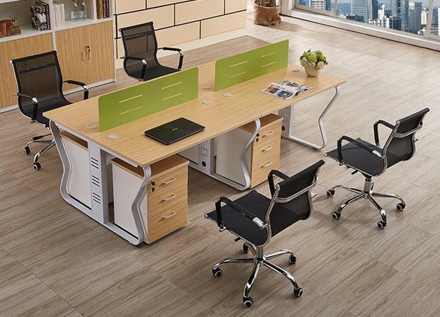 职员屏风卡位办公桌员工工作位2人4人6人