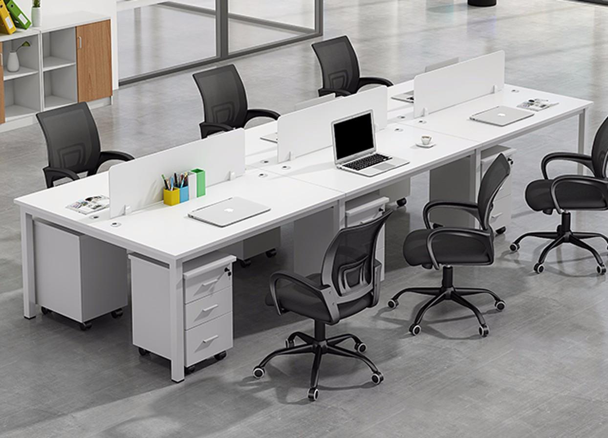 时尚屏风办公桌