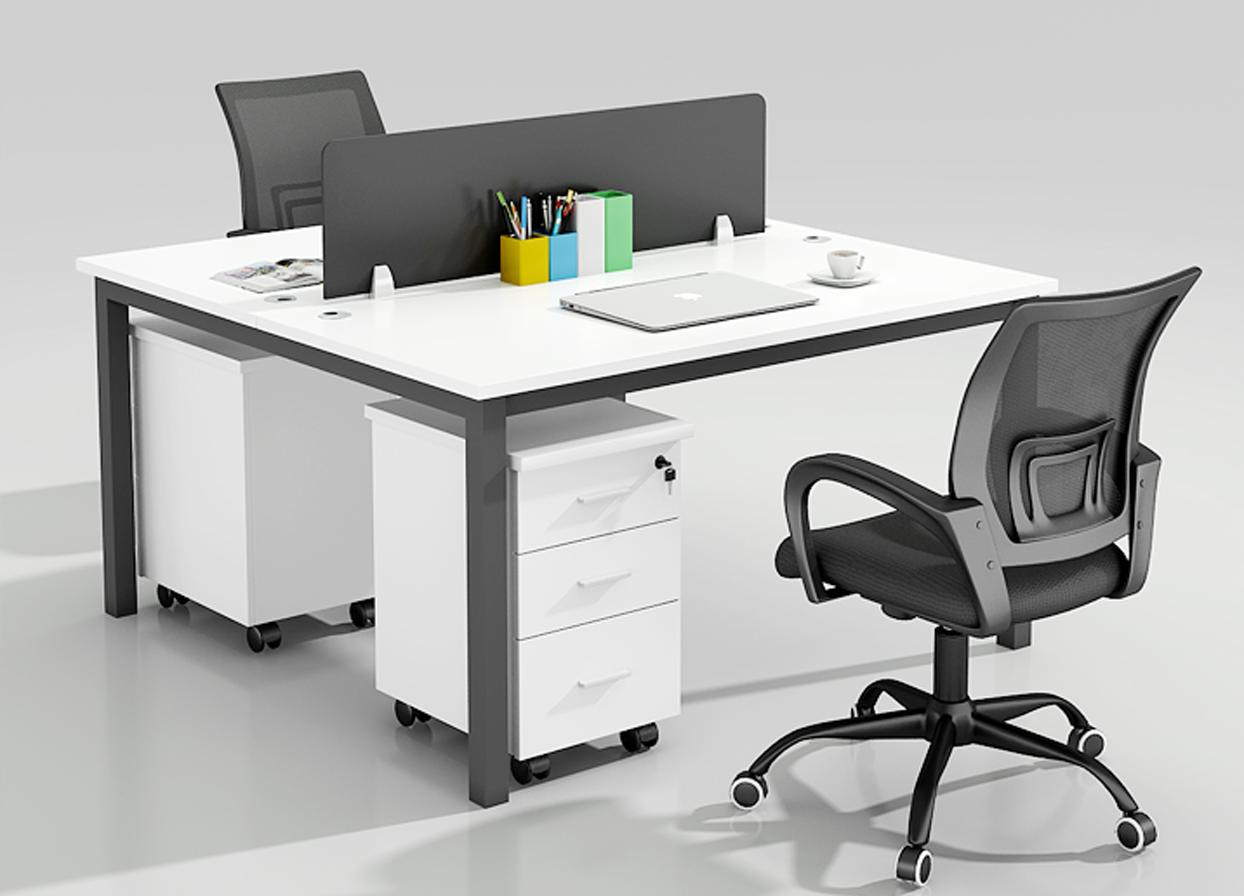 职员办公桌简约现代开放式办公桌