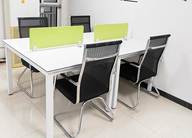 简约现代屏风工作桌